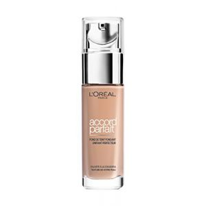 L'Oréal Make Up Designer - Accord Parfait Fond de Teint Fluide Unifiant Beige Rosé (3.R) 30ml