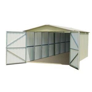 Yardmaster KJ279 - Garage en métal 15,05 m2