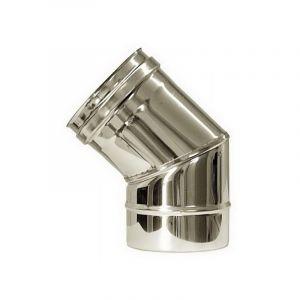 MBM Dn 200 45 ° courbe tube en acier inoxydable de combustion 316 INOX