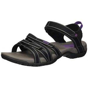 Teva 4266 - W Tirra - Sandales de Randonnée - Femme - Noir (Black/Grey) - 37 EU