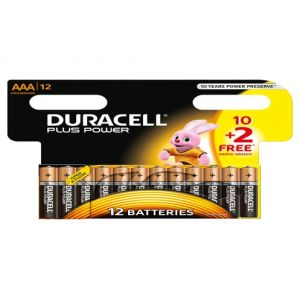 Duracell Alcaline pile AAA 10+2