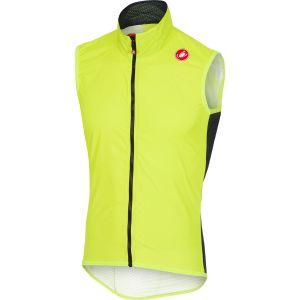 Castelli Pro Light - Veste sans manche Homme - jaune M Gilets
