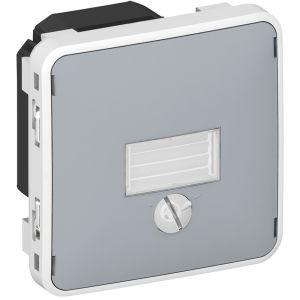 Legrand Inter crépusculaire Prog Plexo composable gris - 1400 W