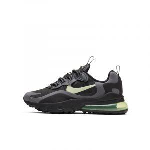 Nike Chaussure Air Max 270 React Enfant - Noir - Taille 35.5