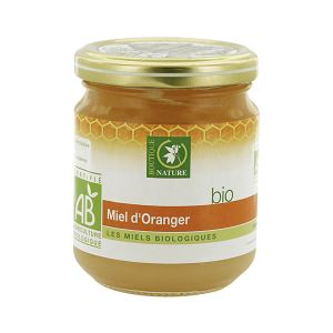Boutique Nature Miel d'oranger bio (250g)