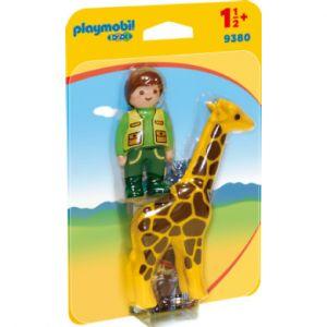 Playmobil Soigneur avec girafe - 9380