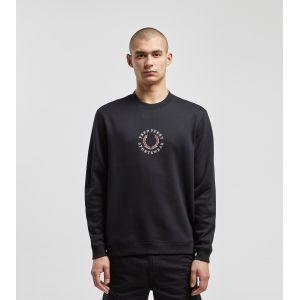 Fred Perry Sweat-shirt Branded Fleeceback Sweatshirt Noir - Taille EU L,EU XL