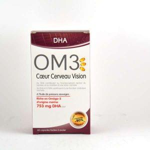 isodisnatura OM3 DHA - Coeur Cerveau Vision - 60 capsules