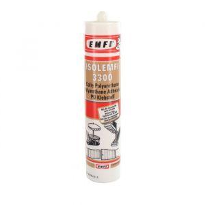 Emfi Cartouche ISOLEMFI 3300 PU Gel D4 Rapide transparent Pour bois extérieur de 300 ML - 50040AE064