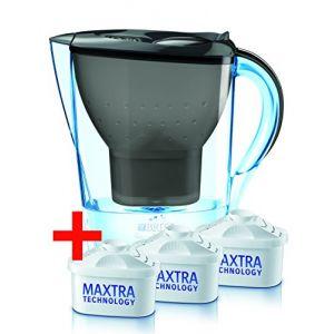 Brita Marella Cool - Carafe filtrante 2,4 L + 3 cartouches Maxtra