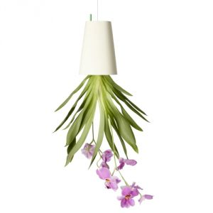 Boskke Sky Planter Plastique Medium - Pot de fleurs à accrocher