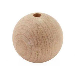 Graine Créative Perles en bois - Ø 40 mm x 10 pces