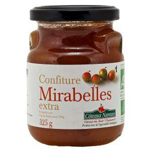 Côteaux nantais Confiture Mirabelle extra Bio 325g