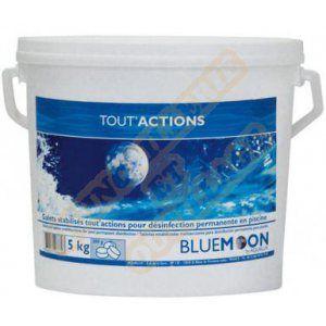 Aqualux Blue moon - Galets Tout'actions - Chlore lent multi action 5kg