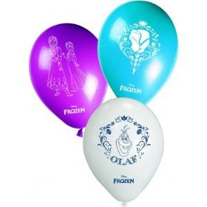8 ballons La Reine des Neiges (3 coloris)