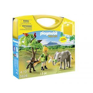 Playmobil 5628 Wild Life - Valisette faune africaine