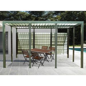 pergola aluminium comparer 1322 offres. Black Bedroom Furniture Sets. Home Design Ideas