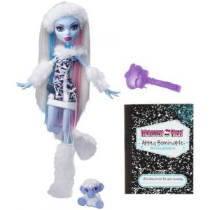 Mattel Monster High Abbey Bominable Fille Du Yeti