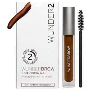 Wunder2 Wunderbrow black/brown - Gel sourcils