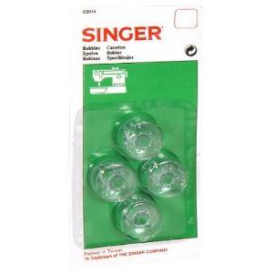Singer 613014 - Canette basse x 4 pour machine à coudre