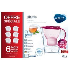 Brita Carafe filtrante MARELLA ROSE + P6