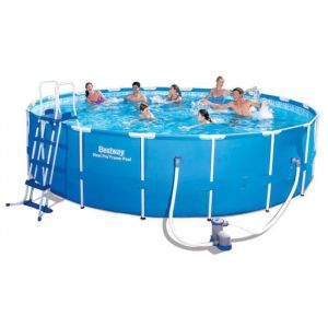 Bestway Kit piscine ronde Steel Pro Frame Pools 23062 Litres
