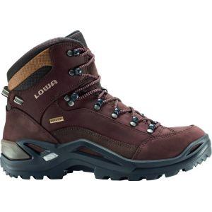 Lowa Renegade GTX Mid - Chaussures de randonnée taille 10,5 - Regular, brun