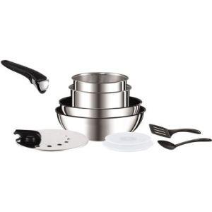 770d3c7beb8ff2 Tefal Batterie de cuisine Ingenio Preference 10 pièces