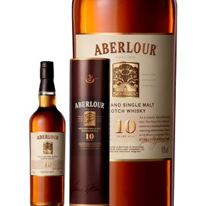 Aberlour Whisky Ecosse Speyside Single Malt 10 ans 40 % vol. 70 cl
