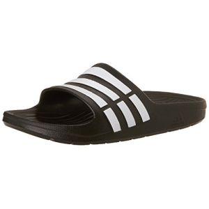 Adidas Duramo Slide K - Sandales natation - Enfant - Black/Running White/Black - 28 EU (10.5 UK)