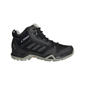 Adidas Terrex Ax3 Mid GTX W, Chaussure de Piste d'athlétisme Femme, Noyau Noir/DGH Gris Solide/Teinte Violet, 36 EU