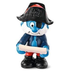 Schleich 20760 - Figurine Schtroumpf capitaine