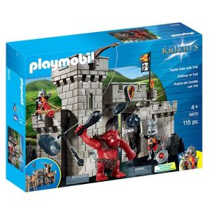 Playmobil 5670 Knights - Citadelle des chevaliers avec troll