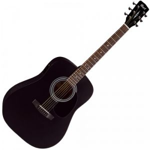 Cort AD810E Guitare acoustique Noir Satine