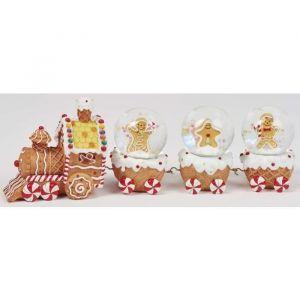 Christmas Dream Train boules de neige (8,5 x 24 x 5 cm)