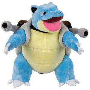 Tomy Pokemon Peluche-Premium-Tortank, T19362, Bleu/Marron, 30 cm