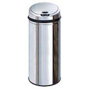 Kitchen Move Poubelle automatique avec seau en inox (50 L)