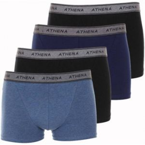 Athena Eco Pack - Lot de 4 boxers - bicolore