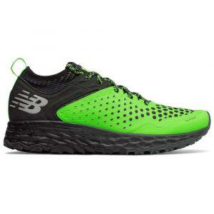 New Balance Fresh Foam Hierro v4, Chaussures de Course sur Sentier Homme, Vert Bright Green, 45 EU