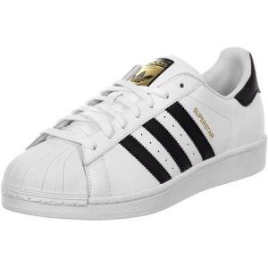 Adidas Superstar chaussures blanc noir 52 2/3 EU