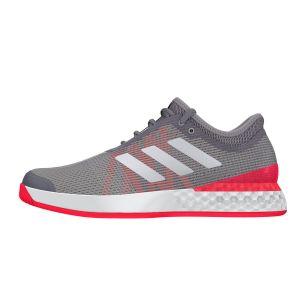 Adidas Chaussures de tennis Adizero Ubersonic 3.0 Noir / Rose - Taille 48 y 2/3