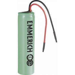 Emmerich NCR18650B Pile rechargeable spéciale 18650 avec câble Li-Ion 3.6 V 3350 mAh