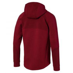 Puma Sweat zippé à capuche Evostripe Rouge Bordeaux - Taille L;M;S;XL;XXL