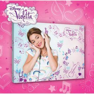 Tableau sur toile Violetta Disney (100 x 75 cm)