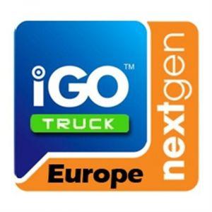 Phonocar Carte de navigation iGO NextGen NV950 Europe pour camion