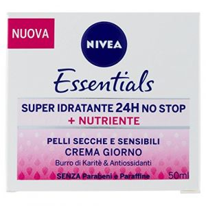 Nivea Essentials Super Idratante No Stop + Nutriente Crema Giorno - 24 h - 50 ml