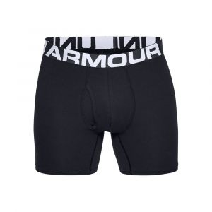 Under Armour Charged Cotton 6´´ 3 Pack - Sous-vêtement casual taille L, noir