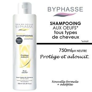 Byphasse Shampooing aux oeufs