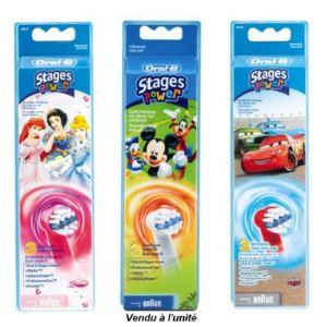 Oral-B EB10-3 Stages Power - 3 brossettes pour enfants