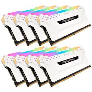 Corsair DDR4 Vengeance RGB PRO Blanc 8 x 8 Go 3600 MHz CAS 18